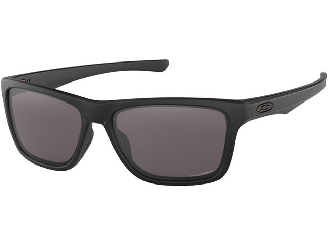 Oakley Holston Lunettes de soleil, matte black/prizm grey